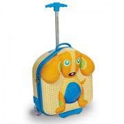 Oops - Gurulós bőrönd - kutyus - Oops bébijátékok