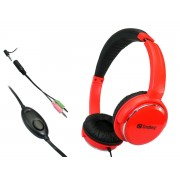 Casti Sandberg Home'n Street Headset Red