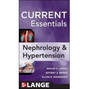 CURRENT Essentials of Nephrology & Hypertension by Edger Lerma