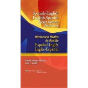 Spanish-English English-Spanish Pocket Medical Dictionary by Onyria Herrera McElroy