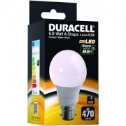 Duracell LED B22 6.8W Frosted Bayonet Bulb (DRLEDA77)