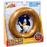 Sonic the Hedgehog Gold Ring with Game Sounds by Jazwares