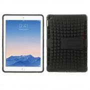 Zwarte shockproof iPad Air 2 Hoes zeer robuust tpu hardcase