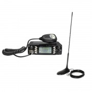 Kit statie radio CB Albrecht AE 6690 + antena PNI Extra 45 (Albrecht)
