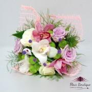 Buchet Orchid Rose BF048