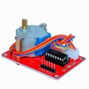 BOOOLE 5V Stepping Motor+Uln 2003 Drive Board 1 Piece Red Set - DIY Maker Open Source
