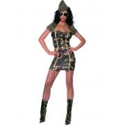 Costum carnaval Femei Army Girl