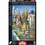 Educa 11874 1000 - Collage Gaudi, Miniatura