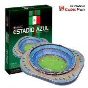 Cubic Fun 3 D Puzzle Azul Stadium C059h
