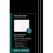 Moleskine Weekly Notebook Black Soft 18M Large