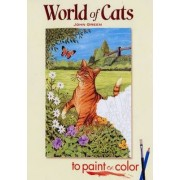 World of Cats to Paint or Color by John Green