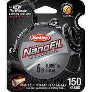Berkley NanoFil Clear Mist 125mt - 0.035mm / 1.415kg