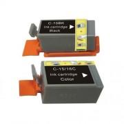 CANON BCI-16 3C 2PC COMPATIBLE PRINTER INK CARTRIDGE