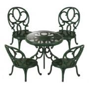 Sylvanian Families Garden furniture table chair set over -621 (japan import)