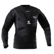 Salming ProTech Core Goalie LS Jersey L Schwarz