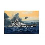 Revell 05136 - Battleship Scharnhorst Kit di Modello, in Plastica, in Scala 1:1200