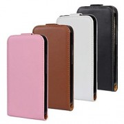 Solid Color Pattern Open Up and Down PU Leather Full Body Case for HTC One X (Optional Colors)