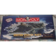 Monopoly United States Navy Edition Board Game by USAopoly