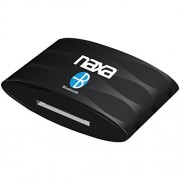 NAXA Electronics NAB Bluetooth Wireless Receiver and Adapter for iPod, iPhone and iPad (Black)