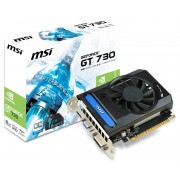 MSI nVidia GeForce GT 730 2GB 64bit N730K-2GD3OC