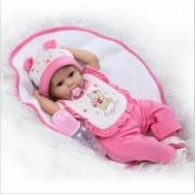 16 40 Cm Silicone Reborn Baby Dolls Faux Bébé Reborn Premie Poupée Doux Poupées Pour Enfants Cadeau Toys Bebe Fille Bonecas
