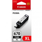 Canon PGI-670XL High Yield Black Ink Cartridge