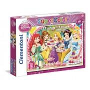 Clementoni 26911 - Princess Royal Tea Party - Puzzle 60 pezzi