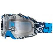 Fox Air Space Cauz Goggle Clear Bianco/Blu
