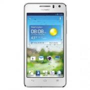 """Huawei Ascend G615 Smartphone libre (pantalla táctil de 4,5"""" 1280 x 720, cámara 8 Mp, 8 GB, procesador de 1.4 GHz), blanco [importado]"""