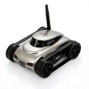 I-spy SPY Mini Tank Car Wifi App-controlled Move Motion and Video Camera for Iphone Android with 0.3