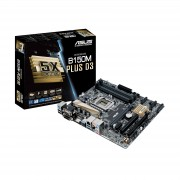 Carte mre ATX ASUS B150-PLUS D3 Socket 1151 SATA 6Gb/s - DDR3 - USB 3.1 - 2x PCI-Express 3.0 16x