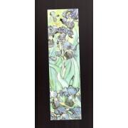 Marque-Page Vincent Van Gogh : Les Iris (1889) - Imprimé En France ,Editions Hazan 1996 - 18x05cm Environ