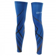 XINTOWN Sun Protection Bike Cycling Leg Protective Polyester Sleeve Set - Blue (L / Pair)