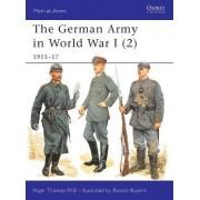 The German Army in World War I (2) by Nigel Thomas