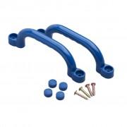 Swing King Ručke za igralište 2 kom Plastične 247 x 68 mm Plave 2552041