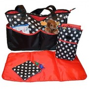 Sharebear Ladies Diaper Bag - The Best Diaper Bag for Baby Boys or Girls. Moms and Dads Will Love the 5 Large Compartmen