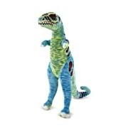 Melissa & Doug Jumbo T-Rex Dinosaur - Lifelike Stuffed Animal (over 1 meter tall)