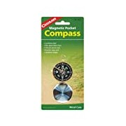 Coghlans Pocket Magnetic Compass - Black