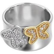 Inel argint 925 Esprit Fluture galben