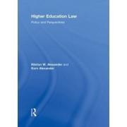 Higher Education Law by Klinton W. Alexander