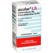 Acular Ls Solução Oftálmica Estéril 0,4 % Com 10ml