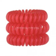 Invisibobble Hair Ring Ластици за коса за Жени Ластици за коса Нюанс - Red