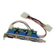 Distributore Video VGA interno 2 porte