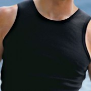 Falocco Collection Montauk Tank Top T Shirt Black