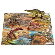 Schleich - 42331 - Figurine haute qualité - Mini-Dinosaures avec Puzzle Marécage