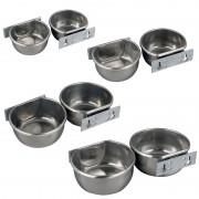 Wall Bowl, Stainless Steel (300 ml / 400 ml / 600 ml / 850 ml) - Inhalt: 850 ml