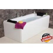 Whirlpool Badewanne Relax Profi mit 22 / 24 Massage Düsen + Heizung + Ozon + ...
