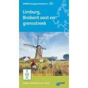 Fietskaart 8 Knooppuntenkaart Limburg, Brabant oost en grensstreek | ANWB Media