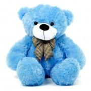 2 Feet Blue Teddy Bear with a Bow