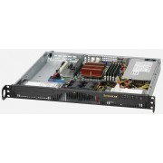 Supermicro 1U Chassis, 350W PS (Gold Level), 2x 3.5' Internal HDD bays